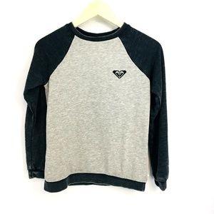 Roxy Crew Neck Long Sleeve Sweater